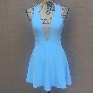 Sz XXS By The Way Powder Blue Mini Dress EUC